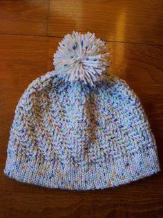 Google+ / Gorro em lã em crochet