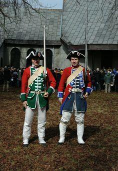 Polish infantry first part of XVIII century