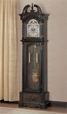 on a full length chalk board draw the clock and use real clock parts to make it work