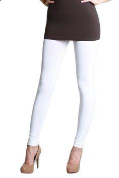 Nikibiki Long Smooth Leggings White  Go to the website to read more description.