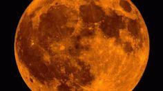A harvest moon lights up the night sky in Sunbury, Ohio. iWitness/immar_2
