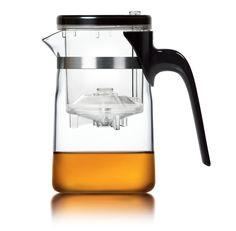 Glas Teekanne mit Infuser Technologie von SAMADOYO