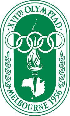 1956 Summer Olympics logo