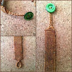 Hancrafted macrame bracelet 🌿 ig:@Macramelody
