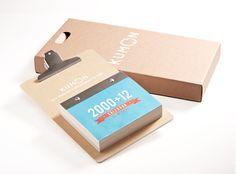 Cool Idea. 2000 + 12 Calendar (DESIGN) by Kevin Reinaldo, via Behance
