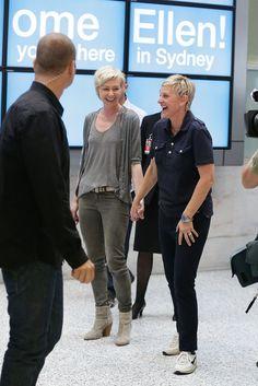 Mel metcalfe and portia de rossi 1 married movie tv for Ellen degeneres and portia de rossi story