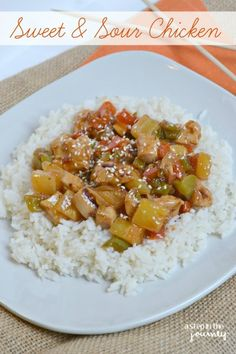 Sweet & Sour Chicken with Kraft Recipe Makers