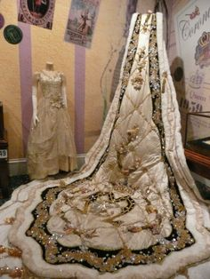 Royalty Train at the Mardi Gras Museum in Mobile, Alabama
