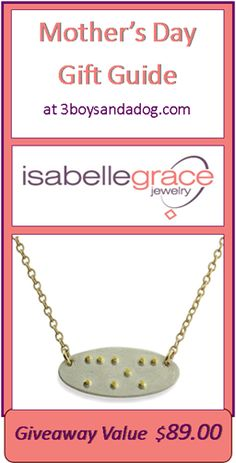 """GIVEAWAY: Braille """"Mom"""" Necklace ($89 value) #happymothersday 5/22"""