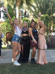 Coachella 2017: Jonmarie,Ashley, Kathey et Mary - Street style: les plus beaux looks de Coachella 2017