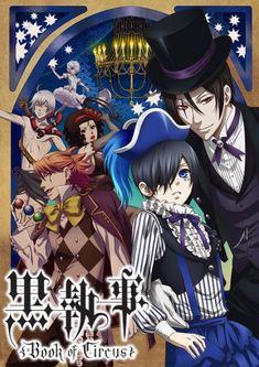 Assistir - Kuroshitsuji: Book of Circus - Todos os Episódios - Online