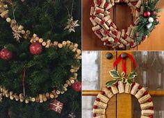 basteln-mit-korken_kreative-und-einfache-bastelideen-für-DIY-weihnachtsdeko-aus-korken