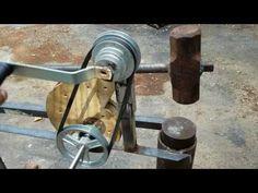 DIY Treadle Hammer: PDF PLANS for Treadle Hammer - YouTube