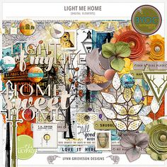 Light Me Home Element Pack by Lynn Grieveson.  Available at the LilyPad.