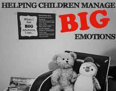 Helping Children Manage BIG Emotions (Printable)   Childhood101