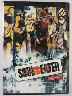 Soul Eater - Complete Series - Episodes 1 to 51 - New DVD Set #anime sale