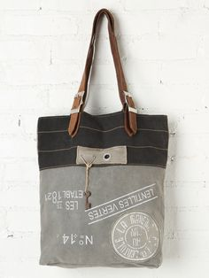 Washed Fielder Tote at Free People Clothing Boutique