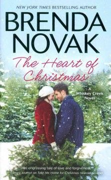The heart of Christmas by Brenda Novak.  Click the cover image to check out or request the romance kindle.