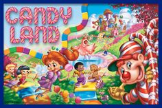 "Play Therapy: Dr. Gary's Candy Land ""Therapy"" Game"
