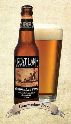 Commodore Perry   Great Lakes Brewing Company One Sip Brought Me Right Back  To My Trip