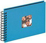 walther design SA-109-U Spiralalbum Fun, 23x17 cm, oceanblau