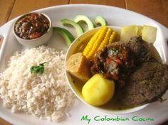 Sancocho de Carne or Colombian Beef Stew