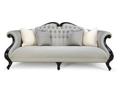 Christopher Guy Sofa. Magnificent cabriole camel-back sofa of truly outstanding beauty.