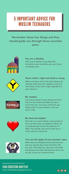 ILMA Education: 5 Important Advice for Muslim Teenagers