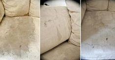 Comment faire disparaître les vilaines taches sur un canapé en tissu! Mattress, Sweet Home, Throw Pillows, Simple, Furniture, Home Decor, Planning, Info, Automobile
