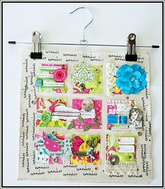 Mish Mash: Summer Sewing...Art Quilt