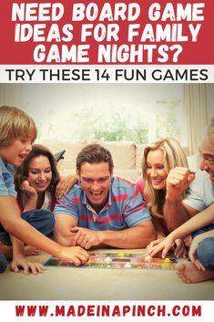 Your guide to the best board games for families to play together with kids as young as 6 years old on family game nights! #boardgames #familygamenight #familygames #familyfunnight #familyfun