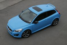 Volvo C30 T5 Polestar. 2.5-litres and 5-cylinders