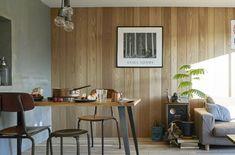 ウッドウォールパネル | toolbox Tool Box, My House, Living Room, Bedroom, Table, Furniture, Home Decor, Room Ideas, Interiors