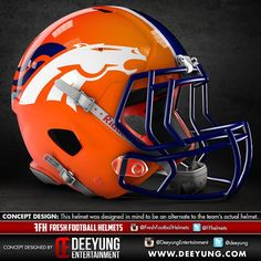 NFL Football Helmet Concept Designs