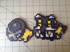 Pokemon Bead Sprite Set  Shieldon Family by ToughTurtles on Etsy, $5.50