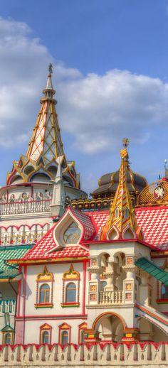 Izmaylovsky Kremlin in Moscow, Russia