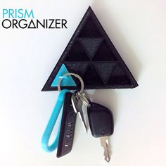 Prism Organizer #3Dprint #3Dprinting [more pics on Cults website] Maybe something for 3D Printer Chat?