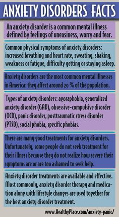 Learn about Anxiety Disorders. Anxiety disorders information.
