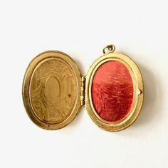 Vintage Gold Locket by NapCatVintage on Etsy