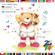 Illustration for Worldcup 2014