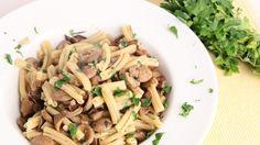 Sausage & Mushroom Pasta Recipe - Laura Vitale - Laura in the Kitchen Ep...