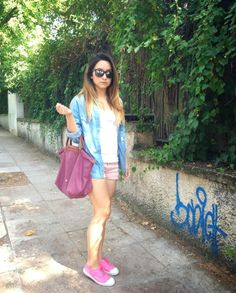 'Outfit of the day' with Bensimon Greece by Fashion has it . . .!