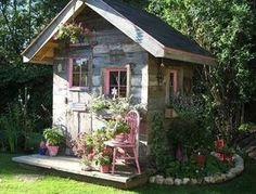 Mesdames, ces abris de jardin sont faits pour vous !