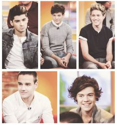 Well, what we see here is the cute smiles, and then the sexy smolderssss<3