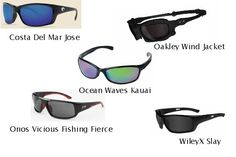 The Best Five Sunglasses for Boaters: Costa Del Mar vs. Oakley vs. Ocean Waves vs. Onos vs. WileyX | boats.com Blog