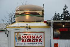 Normas Burger Lacy Wa Great food. You have to try it at least once.