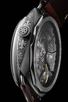 "Panerai Radiomir Firenze 3 Days PAM672 Watch With Engraved Case & Movement - on aBlogtoWatch ""Remember that rather stunning-looking Radiomir PAM604 with the hand-engraved case...? Well, if you thought that was cool, then you'll be glad to hear that Panerai is upping the ante with the new Panerai Radiomir Firenze 3 Days PAM672, a new special edition of just 99 pieces announced today, that now boasts both a hand-engraved stainless steel case as well as a laser-engraved in-house movement..."""