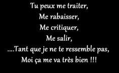 Ouiiiii x true The Words, Cool Words, French Words, French Quotes, Best Quotes, Funny Quotes, Life Quotes, Mantra, Quote Citation