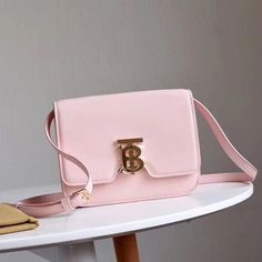 Burberry Small Leather TB Bag In Pink Outlet Burberry Cheap Sale Store Burberry Outlet Online, Cheap Burberry, Buy Cheap, Calf Leather, Leather Crossbody, Calves, Burgundy, Pink, Bags