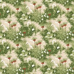 BoråsTapeter Kejsarkrona tapetti beige Beige, Plants, Wallpapers, Wallpaper, Green, Wall Papers, Planters, Tapestries, Plant